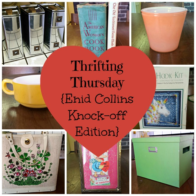 Thrifting Thursday {Enid Collins Knock-off Edition}