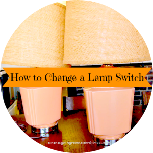 Changing a lamp switch is so easy and cheap, you'll never worry about whether a thrift store or garage sale lamp works again. And you'll never have to get rid of a favorite that stops working, either.
