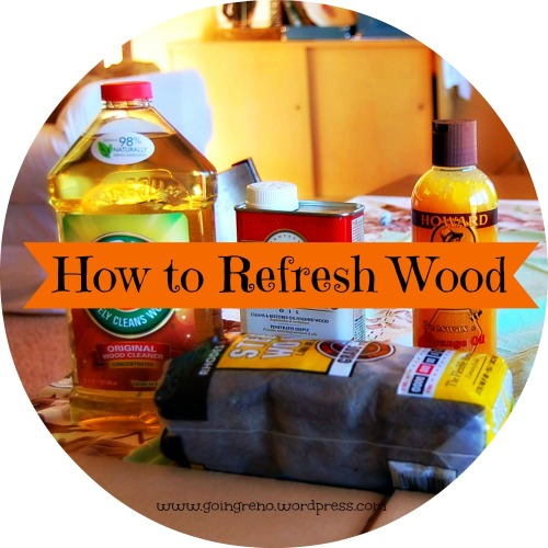 A little bit of elbow grease,and a few really awesome products, are all you need to bring dry, sad old wood back to life.