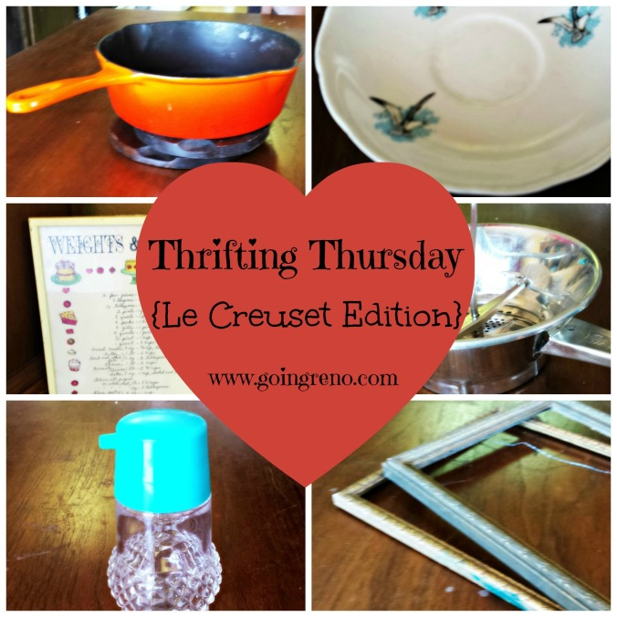Thrifting Thursday {Le Creuset Edition}