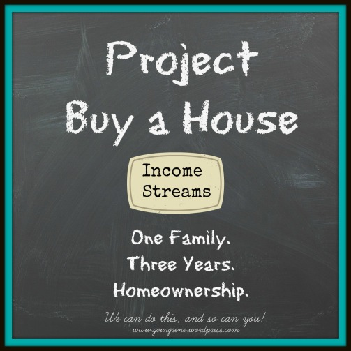 Project Buy a House {Income Streams} by Going Reno