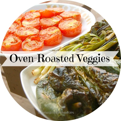 Oven-roasted veggies are a little bit of grilling--only inside! These cook up in twenty minutes under your broiler and taste like heaven. (Plus, your house will smell so delicious!)