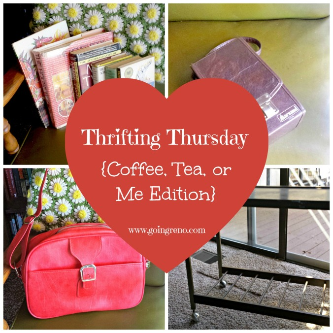 Thrifting Thursday {Coffee, Tea, or Me Edition}